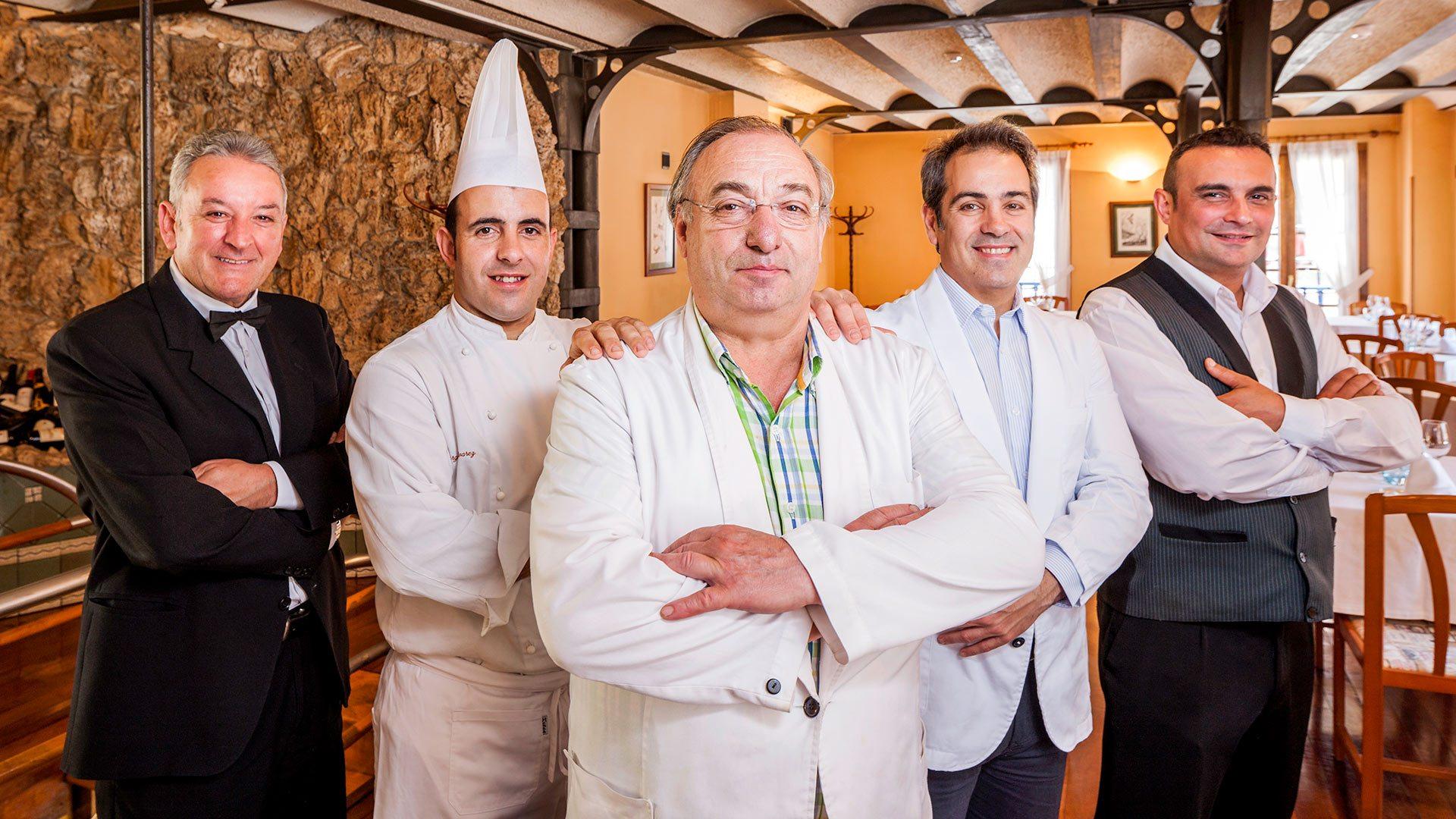 Staff du Restaurant Casa Ramón à Oviedo