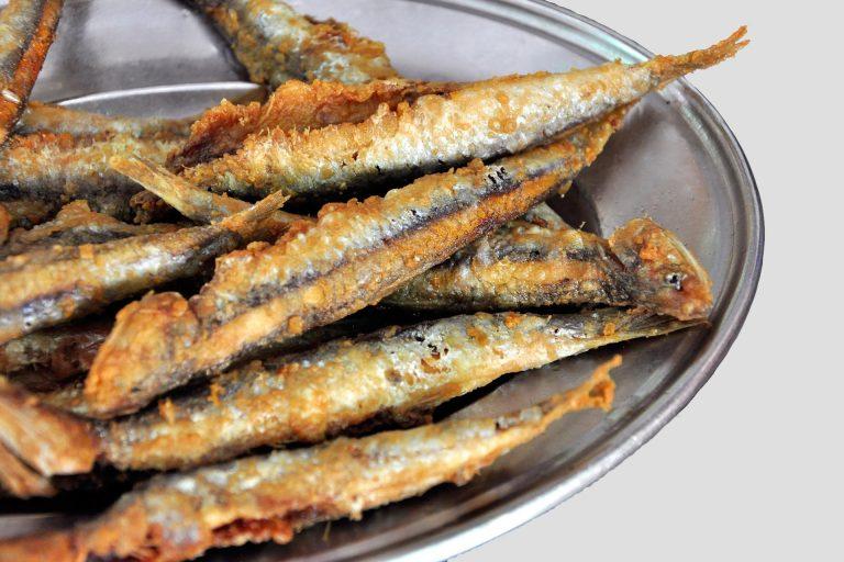 Poisson frit au restaurant Casa Ramón à Oviedo