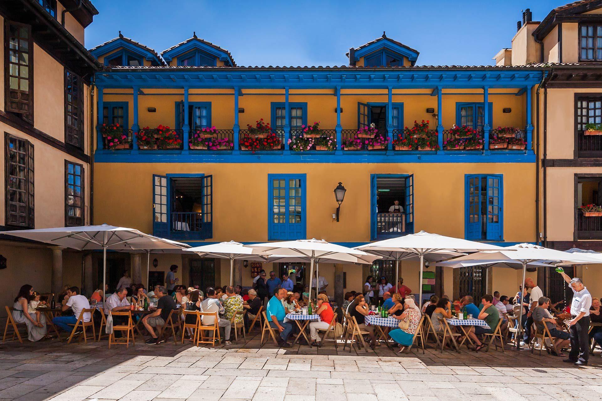 Terraza El Fontán Oviedo Restaurante Casa Ramón